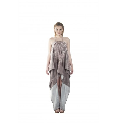 Nature/Raw (Max) Hilo Kaftan with Tie Lace Up (HLKNEMAE09)