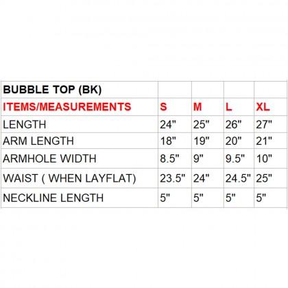 Breeze/Hazed (Min) Bubble Kaftan with Lace (BKPEMIA024)