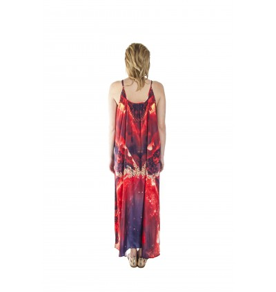 Inferno/Vivid (Max) Long Maxi Dress (SDOMAF02)