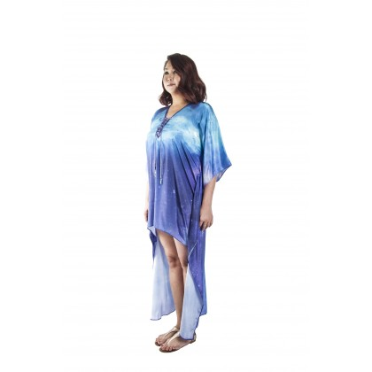 Breeze/Vivid (Min) Hilo Kaftan with Tie Lace Up (HLKOMIA08)