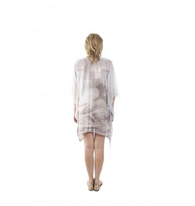 Cascade/Raw (Max) Short Kaftan with Tie Lace (TKNEMAW011)