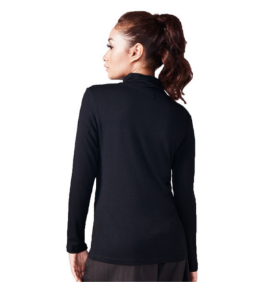 Casual Long Sleeve Turtleneck Top (2 colours available)