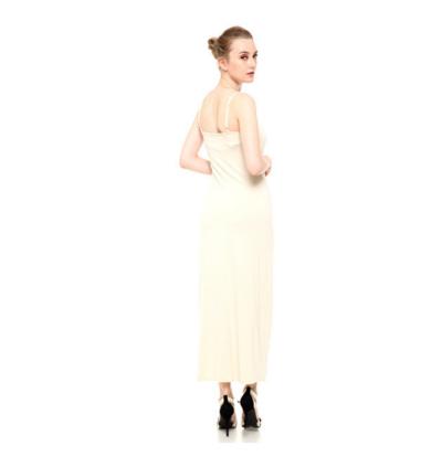 Sleeveless Spaghetti Strap Inner Long Dress (2 colours available)