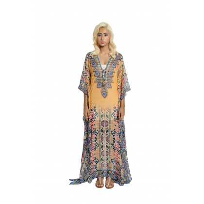 4 Multi ways Long Kaftan (LK3000)